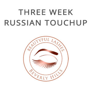 russian volume three week touch up