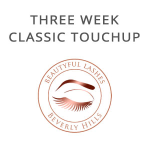 classic three week touch up